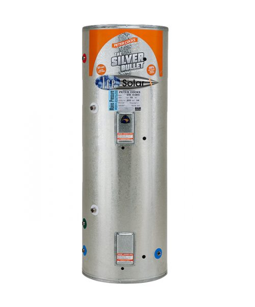 300l solar hot water cylinder with wetback
