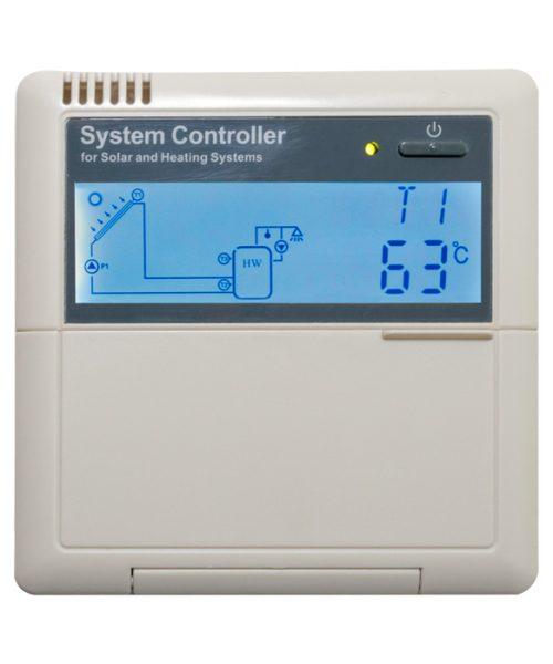 solar controller display 63°C