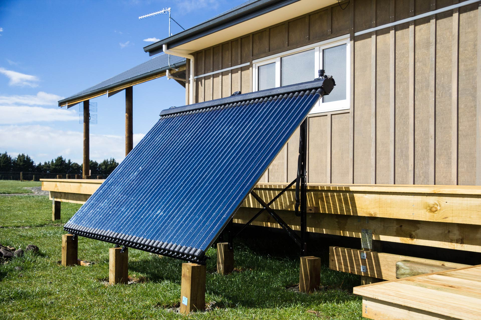 ground mounted solar panel