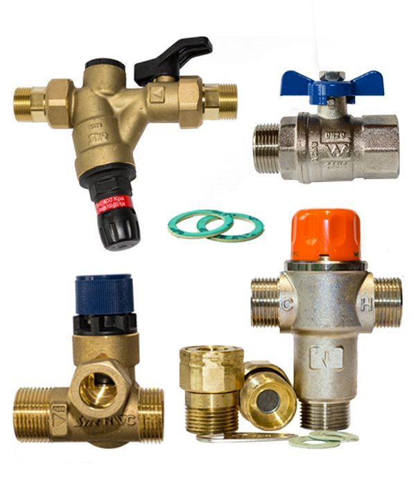reliance valve pack components