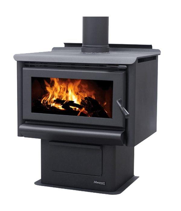free standing fire Mackenzie R10000