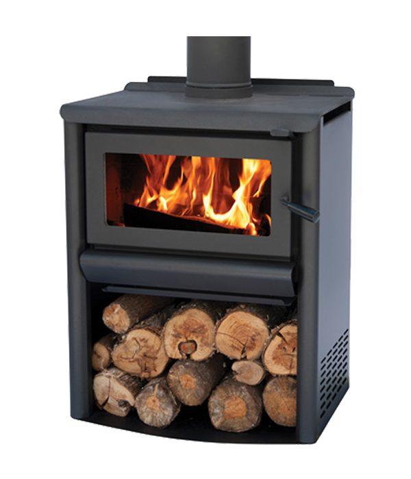 free standing fire R1500 Wood Stacker masport