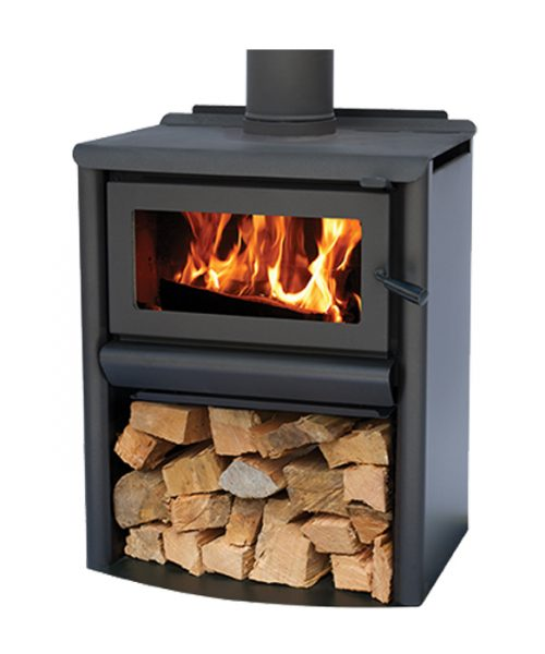 free standing fire R5000 Woodstacker masport
