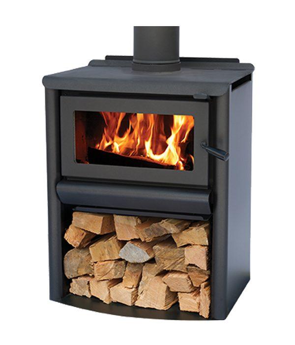 free standing fire R5000 Woodstacker masport